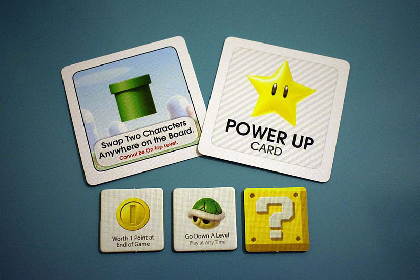 Super Mario Level Up! - Power Up Card and Tiles