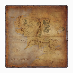 The Lord of the Rings: Journeys in Middle Earth Playmat