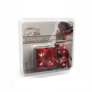 John Carter of Mars RPG: Zodanga Dice Set