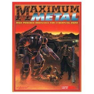 Cyberpunk 2020 RPG: Maximum Metal