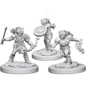 Dungeons & Dragons: Nolzur's Marvelous Unpainted Miniatures: Goblins (Wave 1)