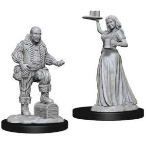 Pathfinder RPG: Deep Cuts Unpainted Miniatures: Merchants (Wave 3)
