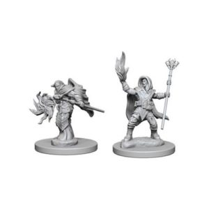 Dungeons & Dragons: Nolzur'S Marvelous Unpainted Miniatures: Elf Male Wizard (Wave 2)