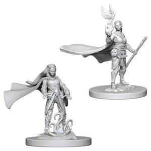 Dungeons & Dragons: Nolzur's Marvelous Unpainted Miniatures: Elf Female Druid (Wave 4)