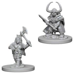 Dungeons & Dragons: Nolzur's Marvelous Unpainted Miniatures: Dwarf Female Barbarian (Wave 4)