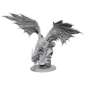 Pathfinder RPG: Deep Cuts Unpainted Miniatures: Silver Dragon (Wave 4)