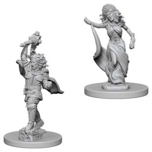 Dungeons & Dragons: Nolzur's Marvelous Unpainted Miniatures: Medusas (Wave 5)