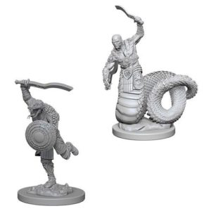 Dungeons & Dragons: Nolzur's Marvelous Unpainted Miniatures: Yuan-Ti Malisons (Wave 4)
