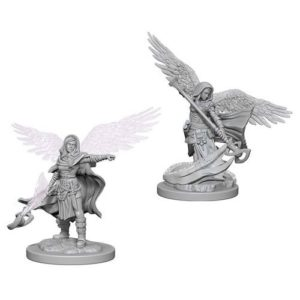 Dungeons & Dragons: Nolzur'S Marvelous Unpainted Miniatures: Aasimar Female Wizard (Wave 4)
