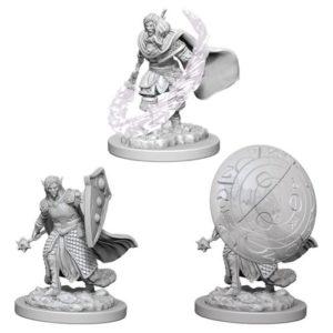 Dungeons & Dragons: Nolzur's Marvelous Unpainted Miniatures: Elf Male Cleric (Wave 5)