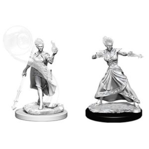 Dungeons & Dragons: Nolzur's Marvelous Unpainted Miniatures: Fire Genasi Female Wizard (Wave 5)