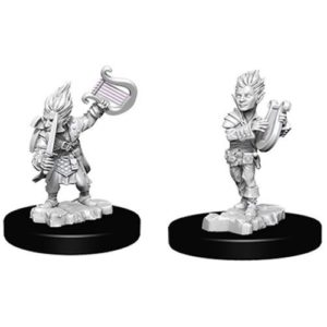 Pathfinder RPG: Deep Cuts Unpainted Miniatures: Gnome Male Bard (Wave 5)