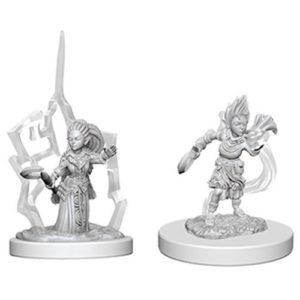 Pathfinder RPG: Deep Cuts Unpainted Miniatures: Gnome Female Druid (Wave 5)