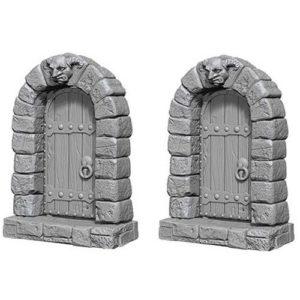 Pathfinder RPG: Deep Cuts Unpainted Miniatures: Doors (Wave 5)