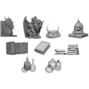 Pathfinder RPG: Deep Cuts Unpainted Miniatures: Wizards Room (Wave 5)