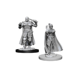 Dungeons & Dragons: Nolzur's Marvelous Unpainted Miniatures: Minsc And Boo & Delina (Wave 8)