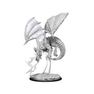 Dungeons & Dragons: Nolzur's Marvelous Unpainted Miniatures: Young Blue Dragon (Wave 8)
