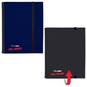 4 Pocket Flip Pro Binder Blue/Black
