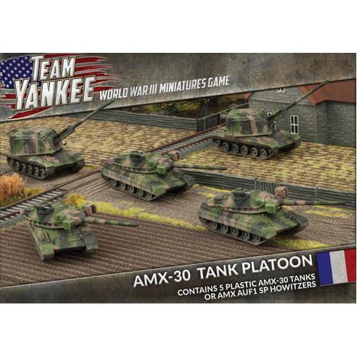 5x Plastic AMX-30 Tanks or AMX AuF1 SP Howitzers
