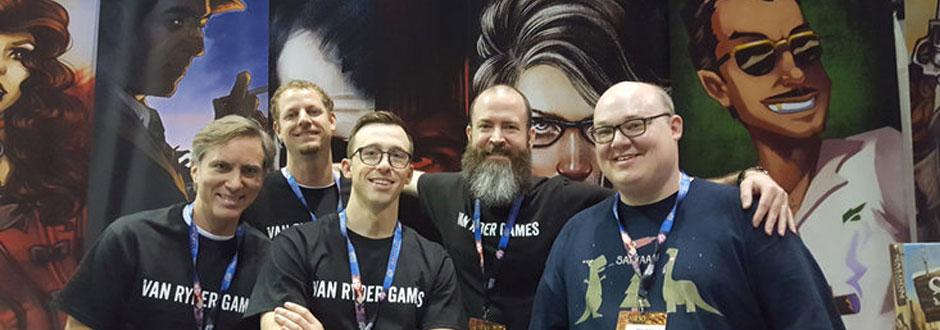 Q&A with A.J. Porfirio of Van Ryder Games