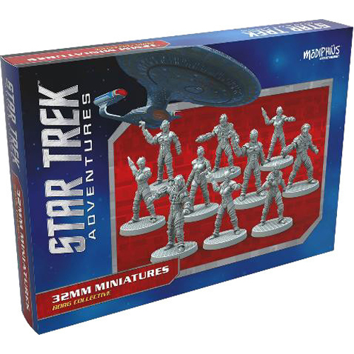 Borg collective 32mm Miniatures: Star Trek Adventures