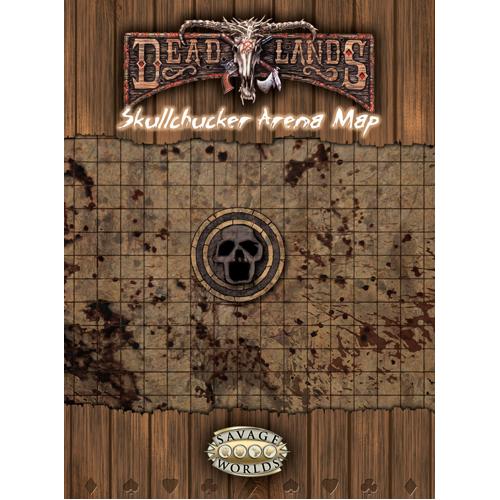 City o' Gloom + Skullchucker Arena Map: Deadlands