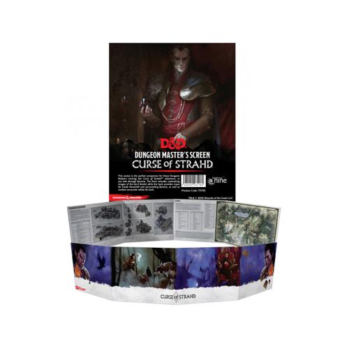 D&D DM Screen - Curse of Strahd