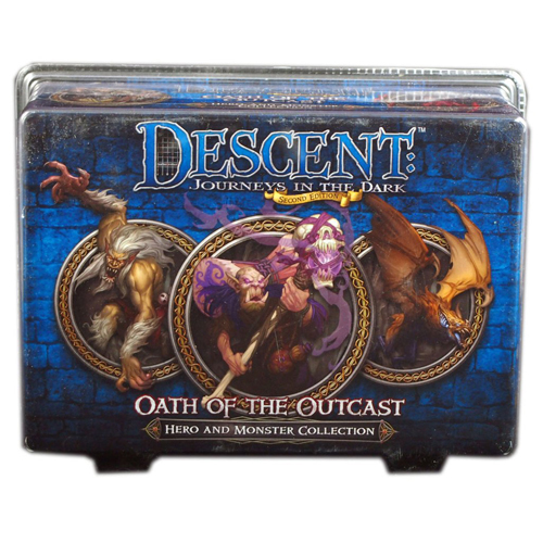 Descent 2nd Ed: Oath of the Outcasts Exp.