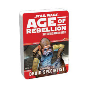 Star Wars: Age of Rebellion RPG - Droid Specialist Specialization Deck