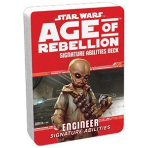 Star Wars: Age of Rebellion RPG - Engineer Signature Abilities Deck