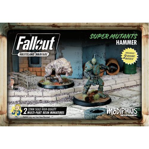 Fallout: Wasteland Warfare- Super Mutants: Hammer