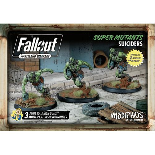 Fallout: Wasteland Warfare- Super Mutants: Suiciders