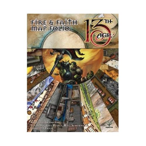 Fire & Faith Map Folio: 13th Age Fantasy