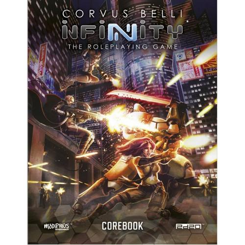 Infinity Corebook RPG Hardback