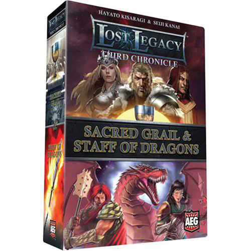 Lost Legacy Third Chronicle: Sacred Grail & Staff of Dragons