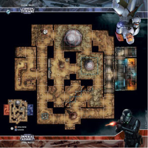 Star Wars: Imperial Assault - Lothal Wastes Map