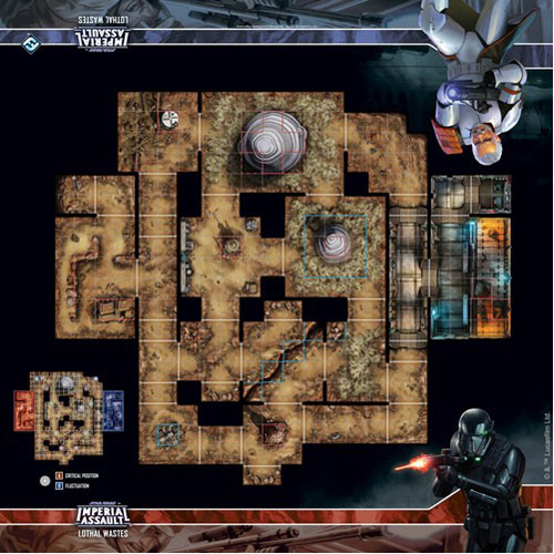 Lothal Wastes Map Star Wars Imperial Assault