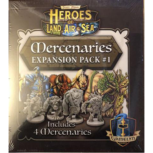 Merc Pack 1 - Heroes of Land Air & Sea Exp