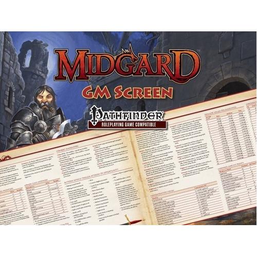 Midgard GM Screen for Pathfinder RPG