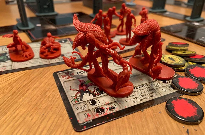 Miniatures of the Survival Horror Expansion