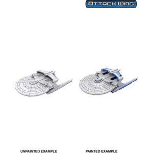 Star Trek Attack Wing: Miranda Class: Unpainted Miniatures (Wave2)
