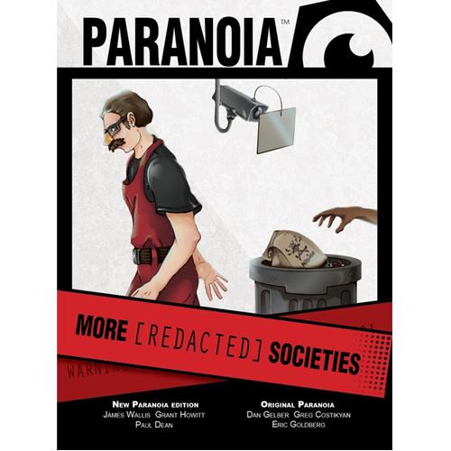 Paranoia: More [REDACTED] Societies