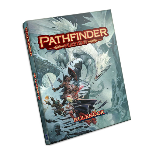Pathfinder RPG 2nd Ed: Playtest Rulebook (Softback)