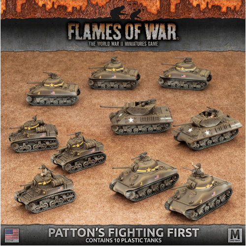 Patton's Fighting First