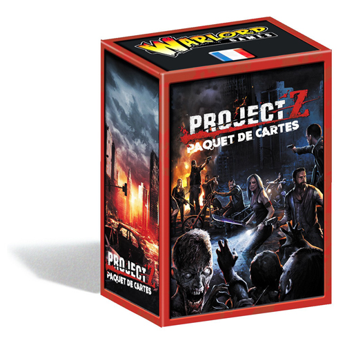 Project Z Expansion Cards French