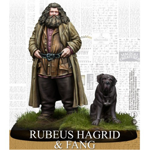 Rubeus Hagrid Exp Harry Potter Miniatures Adventure Game (HPM)