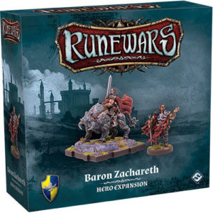 Runewars: Miniatures Game - Baron Zachareth Hero Expansion