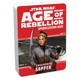 Star Wars: Age of Rebellion RPG - Sapper Specialization Deck