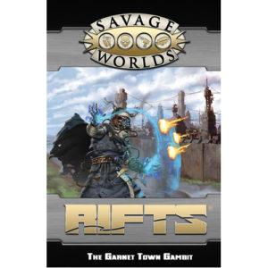 Savage Rifts GM Screen and Garnet Town Gambit Adventure