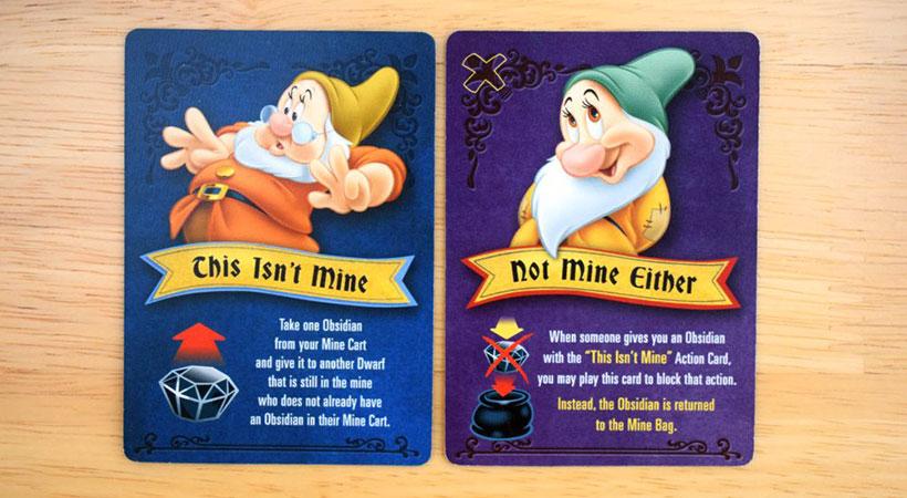 Snow White Gemstone Mining Game - Gemstone Cards